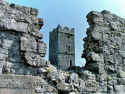 Clare Abbey is just a few minutes from our house