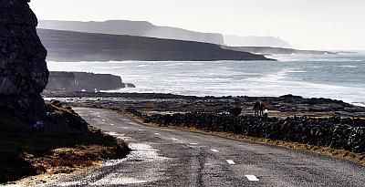 Wild Atlantic Way in the Burren