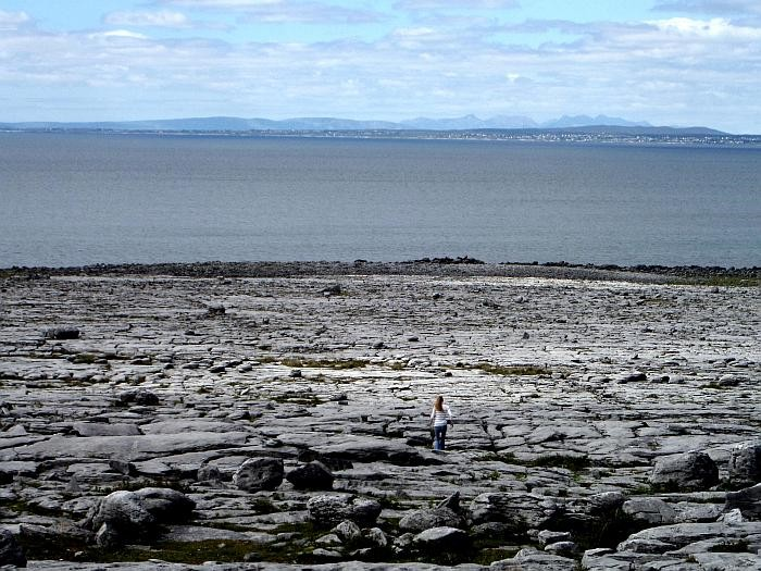 The Burren coast